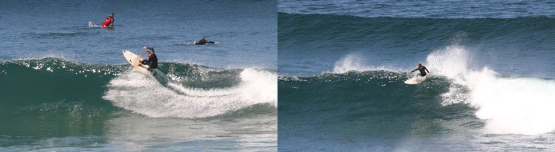 Camino Surfcamp Advanced Surfcourse Chris Topturn DE